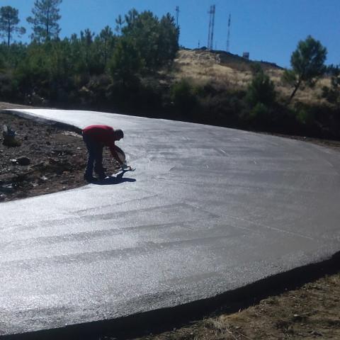 Asfaltado carretera